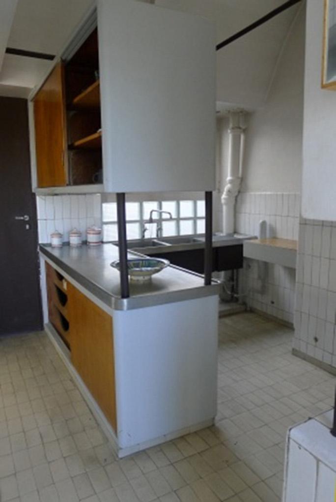 ル・コルビュジエのアパルトマンのキッチン