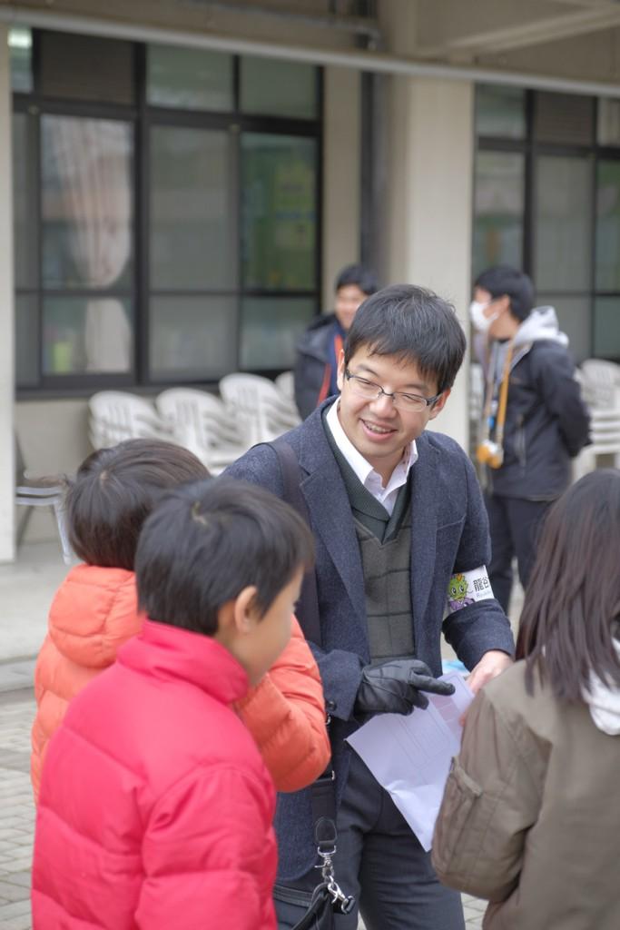 世界遺産PBL科目でフィールドに立つ笠井賢紀氏