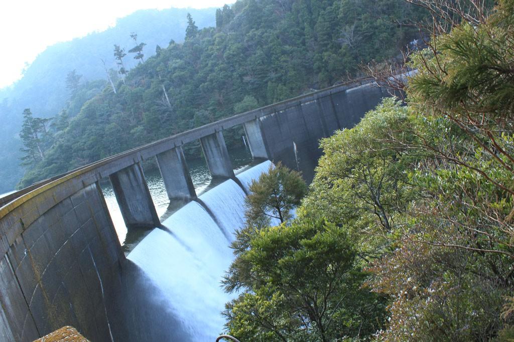 屋久島の水力発電