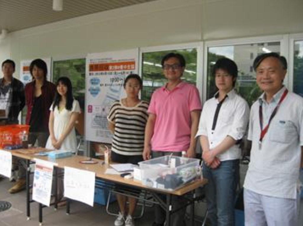 2013年阪大豊中キャンパスで行った携帯電話回収イベント